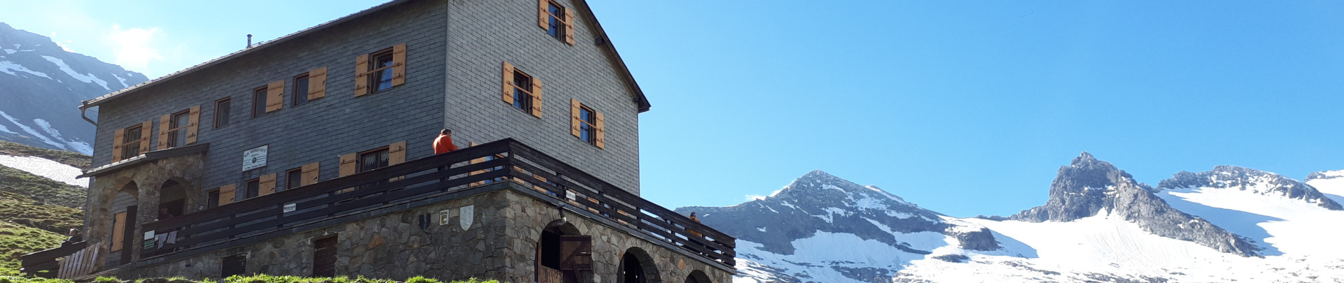 Neue Thüringer Hütte / Habachtal
